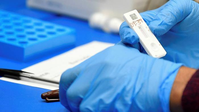 Lateral flow Covid tests to be allowed for international arrivals in England